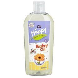 Bella Baby Happy Natural Care oliwka do ciała 200 ml 200 ml   SZYBKA WYSYŁKA!