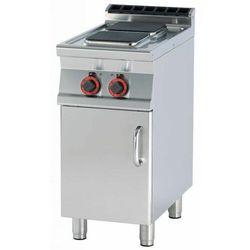 Kuchnia elektryczna z szafką | 220x220mm | 2x2600W | 400x700x(H)900mm