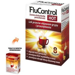 Flucontrol Hot prosz.do sp.rozt.doust. 1g+0,01g+4mg 8 sasz.a 5,5g