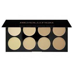 Makeup Revolution London Cover & Conceal Palette 10g W Korektor Light