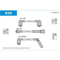 Przewody zapłonowe - zestaw JANMOR D2S