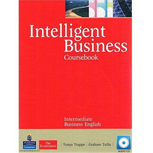 Książki do nauki języka, Intelligent Business Coursebook Intermediate + CD (opr. miękka)