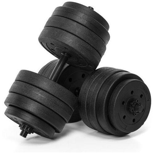 Hantle, Hantle treningowe bitumiczne AbarQs HC-40KG (2x20kg)