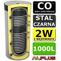 Bufor LEMET 1000L do CO z 2 Wężownicami - Zbiornik Buforowy Zasobnik Akumulacyjny 1000 litrów - Wysyłka Gratis