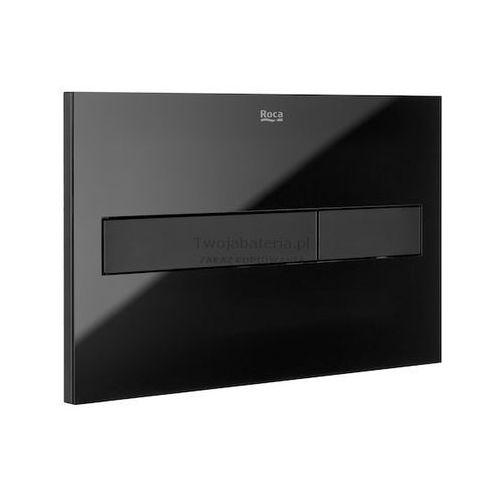 przycisk spłukujący pl7 2-funkcyjny czarny matszkło a890088308 marki Roca