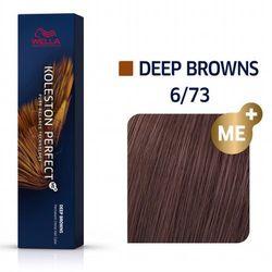 Wella Koleston Perfect ME+   Trwała farba do włosów 6/73 60ml