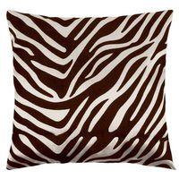 Poduszki, Bellatex Poduszka - jasiek Leona – zebra kremowa, brązowa, 45 x 45 cm