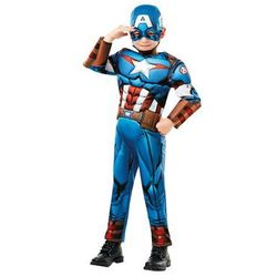Kostium Kapitan Ameryka Deluxe dla chłopca - Roz. L