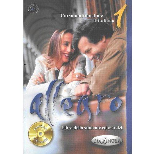 Książki do nauki języka, Allegro 1 Libro dello studente ed esercizi + CD (opr. miękka)