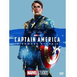 CAPTAIN AMERICA: PIERWSZE STARCIE (DVD) KOLEKCJA MARVEL (Płyta DVD)