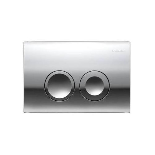 delta21 przycisk uruchamiający przedni do spłuczek podtynk. up100, chrom błyszczący 115.125.21.1 marki Geberit