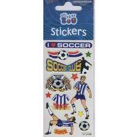 Naklejki, Naklejki Sticker BOO silver piłkarze