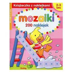 Mozaiki 2-3 lata Książeczka z naklejkami - Praca zbiorowa