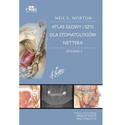 Atlas anatomii głowy i szyi dla stomatologów Nettera (opr. miękka)