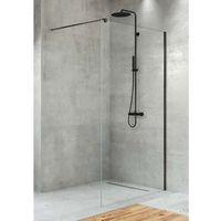 Ścianki prysznicowe, Ścianka prysznicowa 120 cm Velio New Trendy D-0145B ✖️AUTORYZOWANY DYSTRYBUTOR✖️