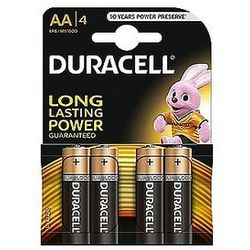 Baterie alkaliczne Duracell Basic AA LR6 1,5V, 4 szt.