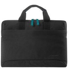 """Tucano Smilza super slim bag for laptop 13.3"""" and 14"""", Black"""