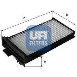 Filtr, wentylacja przestrzeni pasażerskiej UFI 53.104.00