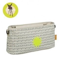 Lassig Casual Label Organizer do Wózka Dots & Strokes sand