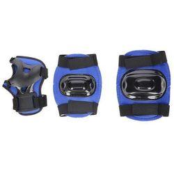 Zestaw ochraniaczy AKO SPORT PO02 Czarno-niebieski (rozmiar M)