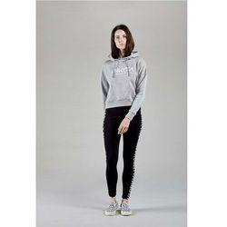 bluza NIKITA - Simplicity Crop Po Hoodie Athletic Heather Grey (AGH) rozmiar: M