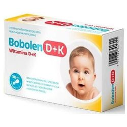 Bobolen witamina d+k x 30 kapsułek twist-off