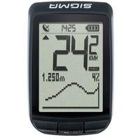 Liczniki rowerowe, Licznik SIGMA Pure GPS czarny