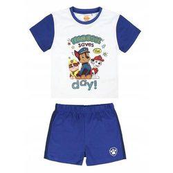 Disney piżama chłopięca Paw Patrol 104 biały/niebieski