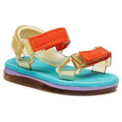 Sandały MELISSA - Mini Melissa Papete + Rider Bb 32972 Yellow/Blue/Lilac 53652