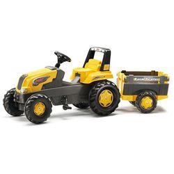 Rolly Toys Traktor na pedały Rolly Junior s Farm z przyczepą - BEZPŁATNY ODBIÓR: WROCŁAW!