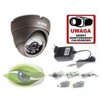 Zestawy monitoringowe, Zestaw startowy AHD, 1x Kamera HD/IR20 + akcesoria