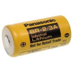 Bateria BR-2/3A Panasonic 3.0V 2/3A 17x33.5mm