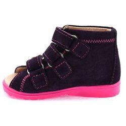 Dziecięce buty profilaktyczne Dawid 1041 - Różowy ||Śliwkowy