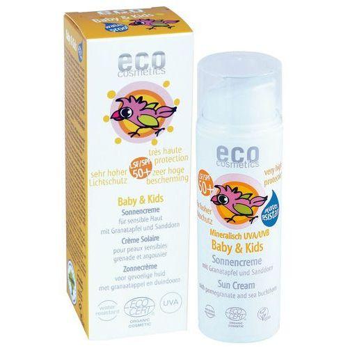 Kosmetyki z filtrem dla dzieci, BABY & KIDS Krem na słońce LSF/SPF 50+ z owocem granatu i rokitnikiem