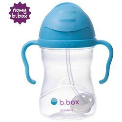 B.BOX *NOWY* innowacyjny bidon ze słomką b.box borówkowy | szybka