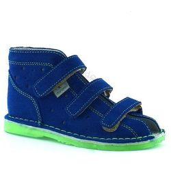 Dziecięce kapcie profilaktyczne Danielki TX105/115 Blue Fluoz - Zielony   Niebieski