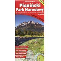 Mapy i atlasy turystyczne, PIENIŃSKI PARK NARODOWY MAPA TURYSTYCZNA 1:20 000 (opr. broszurowa)