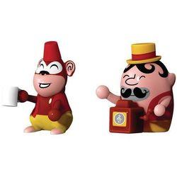 Porcelanowe figurki Jimmy Melody & Monkey Money