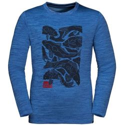 Dziecięca koszulka VARGEN LONGSLEEVE KIDS coastal blue - 104