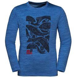 Dziecięca koszulka VARGEN LONGSLEEVE KIDS coastal blue - 128