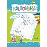 Książki dla dzieci, Kalkomania z naklejkami Misie (opr. broszurowa)