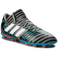 Obuwie sportowe dziecięce, Buty adidas - Nemeziz Messi 17.3 Fg J CP9174 Grey/Ftwwht/Cblack