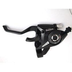 Dźwignia Shimano przerzutki-hamulca ST-EF500 3-rzędowa czarna
