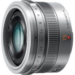Panasonic H-X015E 15 mm f/1,7 (srebrny) - produkt w magazynie - szybka wysyłka!