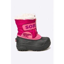 7495cfc0 Sorel - Śniegowce dziecięce Childrens Snow Commander™ 652