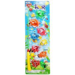 Zabawka SWEDE Q2952 Wędka z rybkami