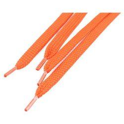 Sznurówki płaskie do butów 7 mm - pomarańczowe - Pomarańczowy