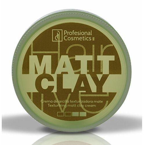 Stylizowanie włosów, Profesional Cosmetics HAIRLIVE MATT CLAY Matowa guma modelująca do włosów