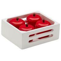 Zabawki z drewna, Kids Concept Skrzynka Drewniana z Jabłkami