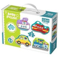 Pozostałe zabawki, Puzzle Baby Classic Pojazdy transportowe